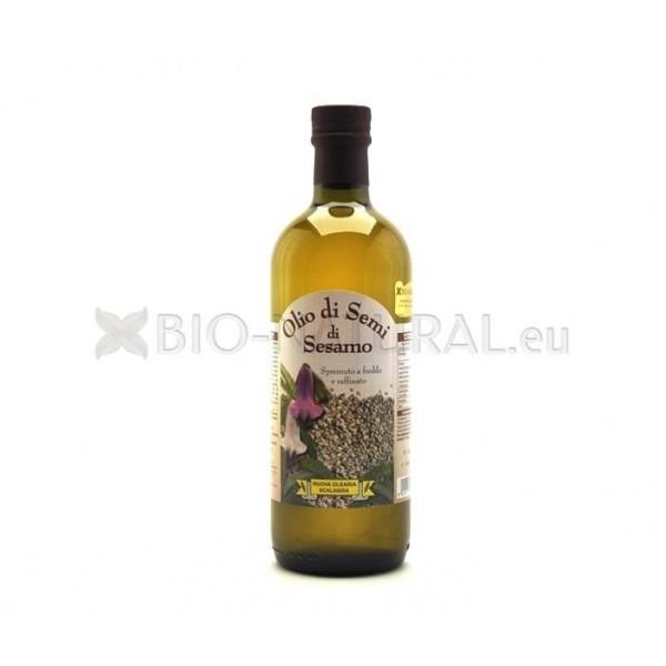 Sesame oil bio - Olio di sesamo per cucinare ...
