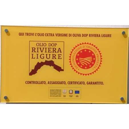 EXTRA VIRGIN OLIVE OIL D.O.P. LIGURISCHE RIVIERA DER BLUMEN
