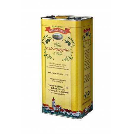 Olio Extra Vergine d'Oliva latta da 5 L