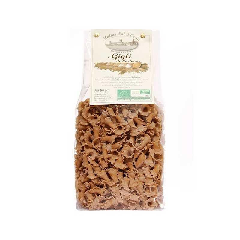 organic pasta gigli - ancient grais Mulino Val d'Orcia