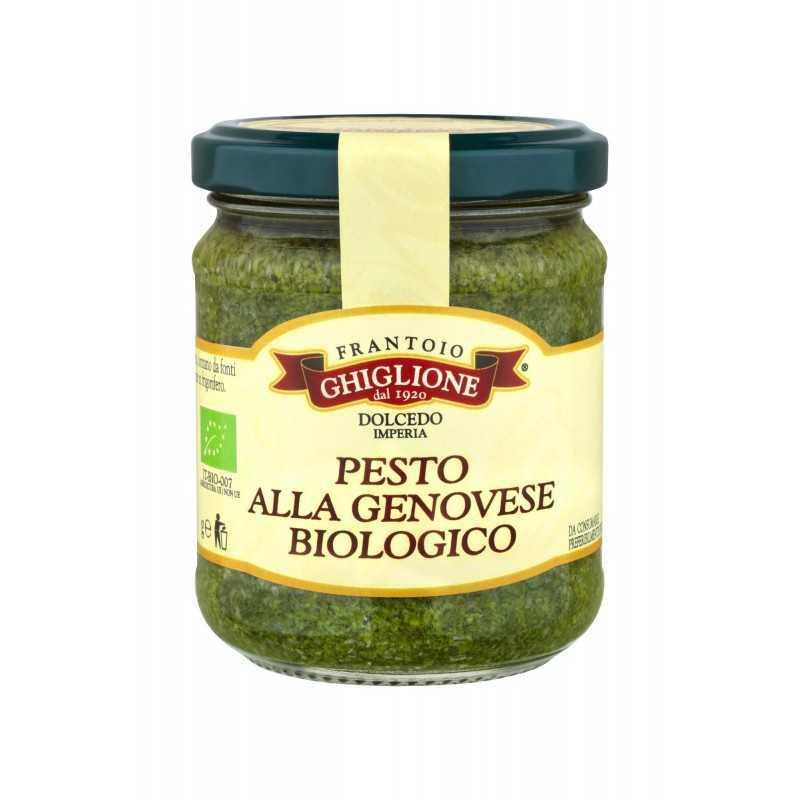 Biological Ligurian Pesto Sauce Frantoio Ghiglione