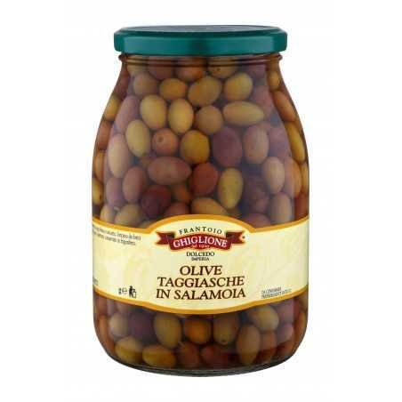 Olives Taggiasche in brine 1Kg - Frantorio Ghiglione
