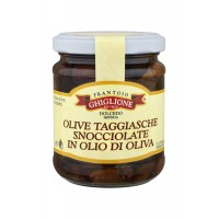 Olive Taggiasche snocciolate sott'olio - Ghiglione
