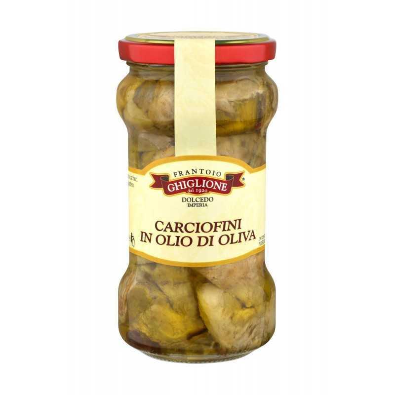280 gr Artischocken in Olivenöl