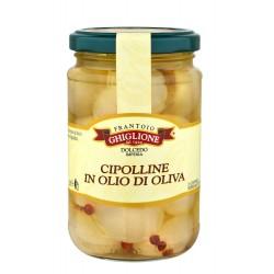 Zwiebeln in Olivenöl 280 gr