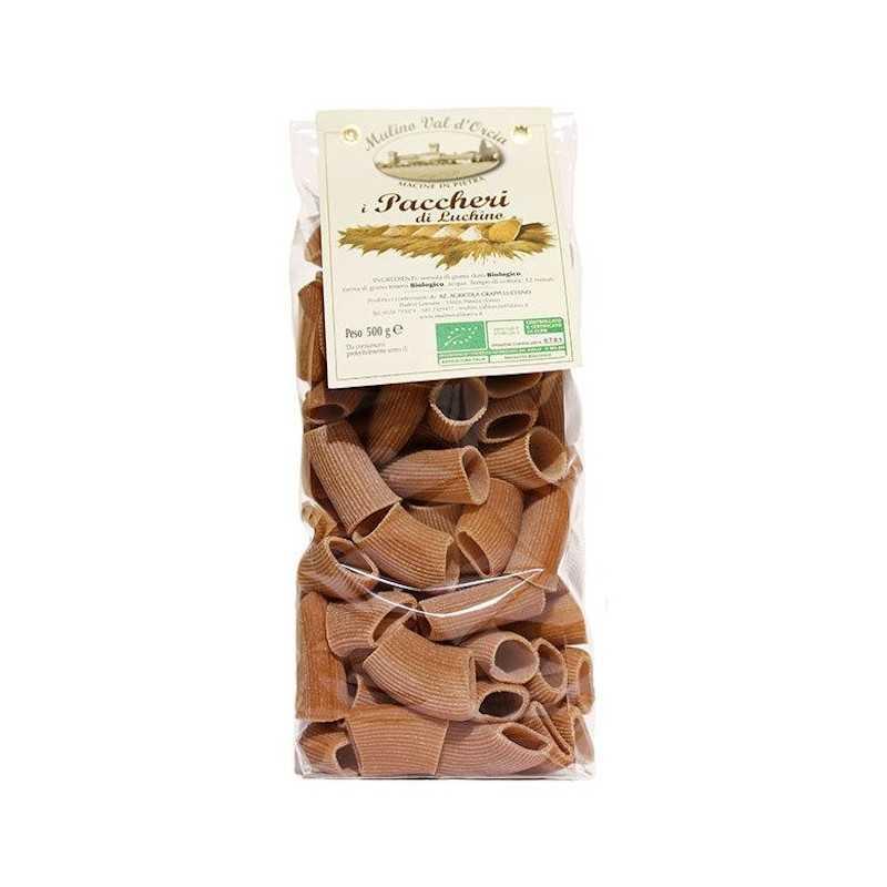 Pasta PACCHERI Organic Ancient Grains Mulino Val d'Orcia