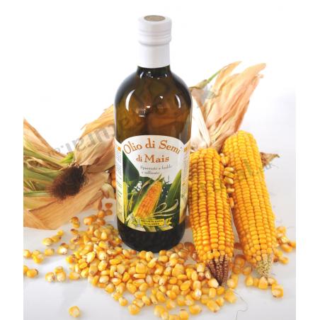 Olio di semi di Mais prodotto in Italia - Nuova Olearia