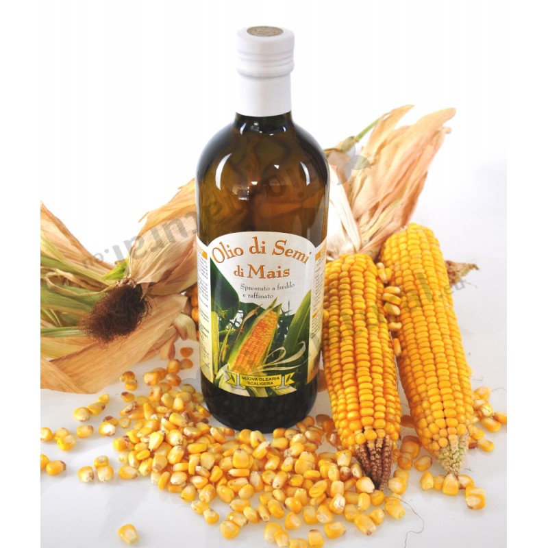 Corn seed oil produced in Italy - Nuova Olearia