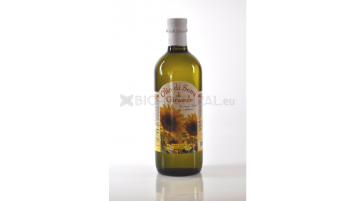 Sunflower seed oil cold pressed made in Italy - Nuova Olearia