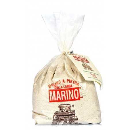 Stone ground organic Soft wheat Sieve flour - Mulino Marino 1kg
