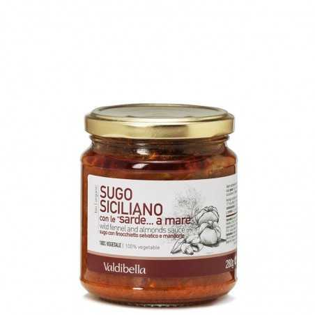 image of sardines a mare valdibella sauce 280gr