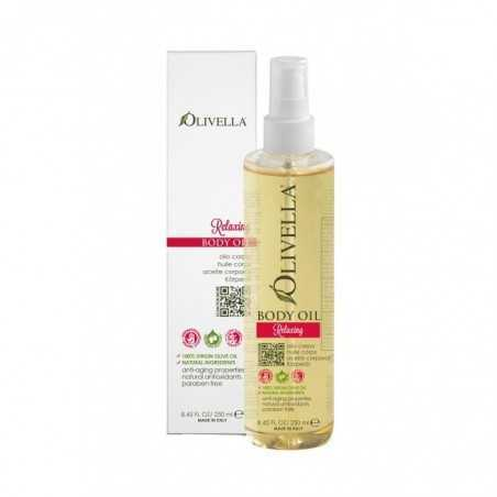image relaxing body oil olivella 250ml
