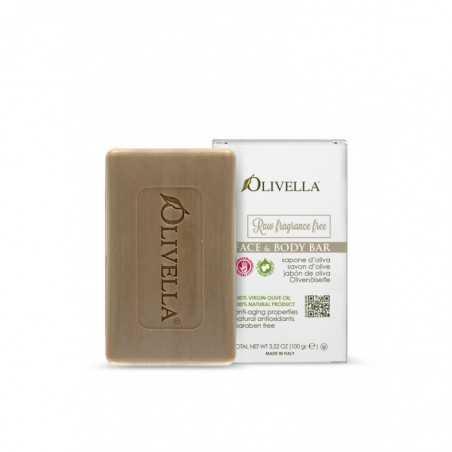 Bild von Seife ohne Parfüm Gesicht und Körper Olivella 100gr