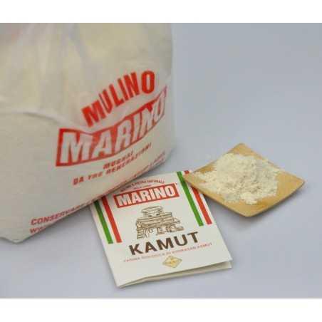 bio kamut flour sack with label