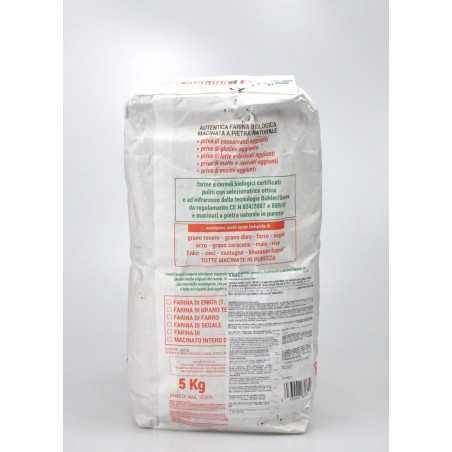 kamut flour 5 kg back