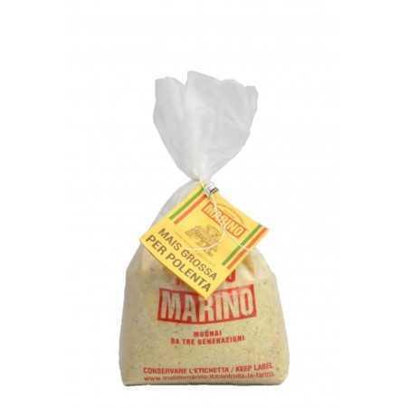 Organic coarse stone ground corn flour - Mulino Marino 1 kg