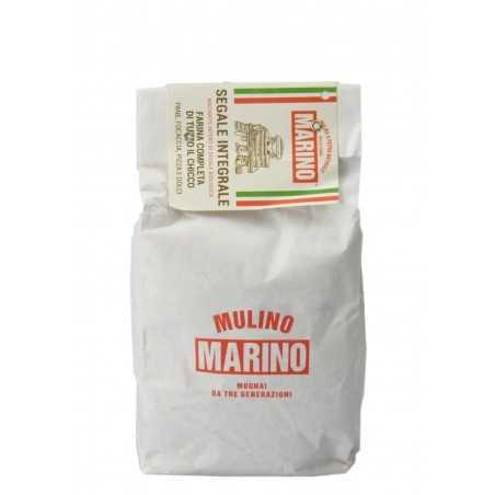 Stone ground wholemeal rye flour - Mulino Marino 1 kg