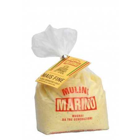 Stone ground organic whole corn flour - Mulino Marino 1 kg