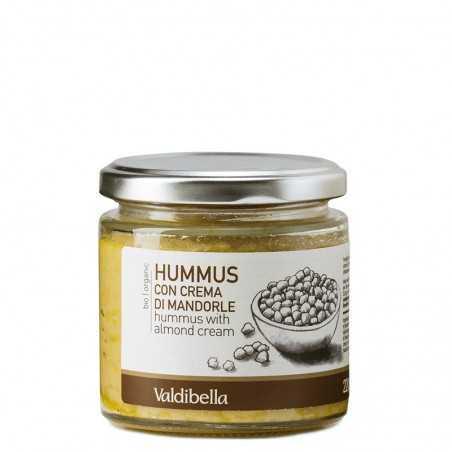 HUMMUS mit Mandelcreme 220 gr - Valdibella