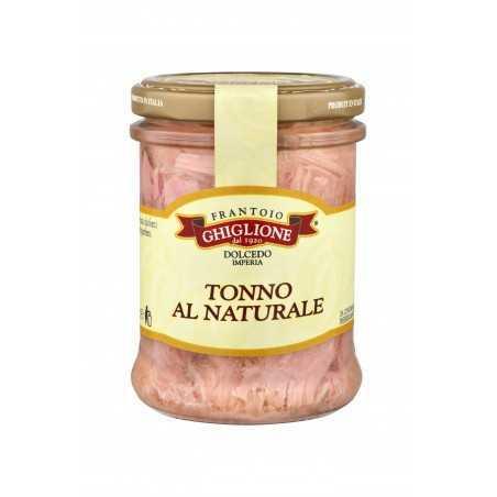 100% Italian TUNA FILLETS IN NATURAL 200 gr