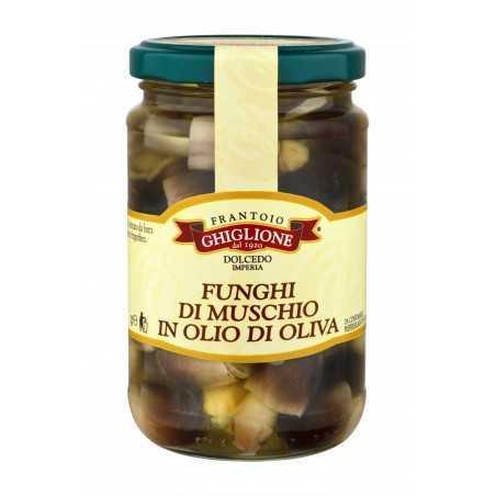 Moospilze in Olivenöl 290 - 520 gr