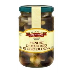 MUSHROOMS IN OLIVE OIL 290 - 520 gr