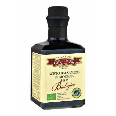 Organic Balsamic Vinegar of Modena 250 ml Ghiglione
